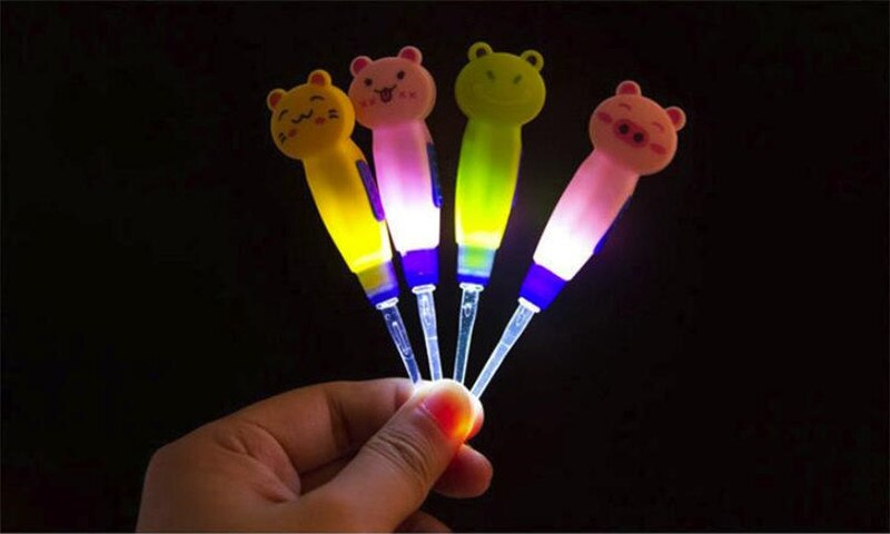 Earwax With Light Spoon LED Cartoon Baby Care Ears Spoon Digging Luminous Dig Ear-picker Product Child Cleaning Tool