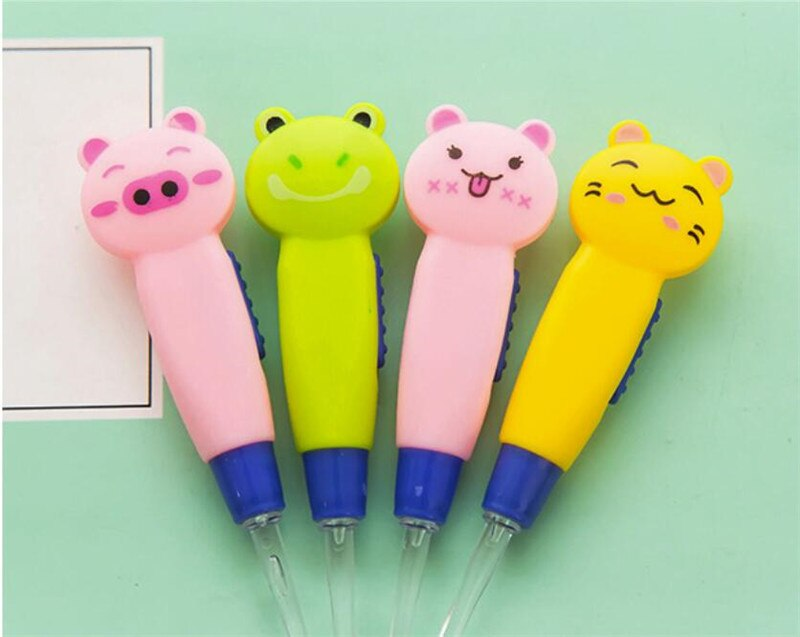 Baby Care Ear Spoon Light Child Ears Cleaning with Light Wholesale Earwax Spoon Digging Luminous Dig Ear Cartoon Spoon
