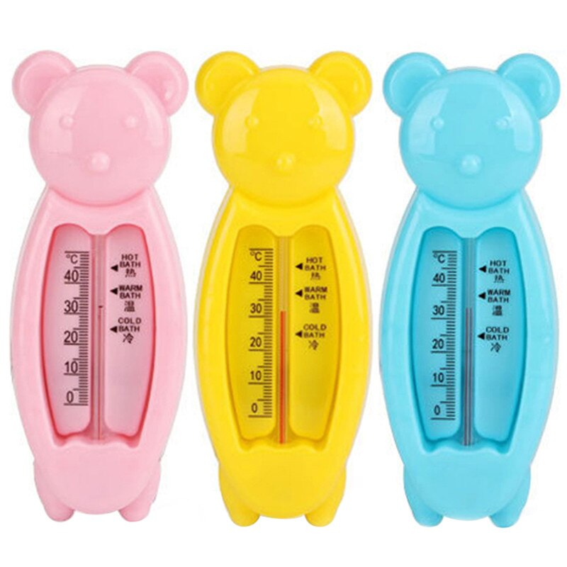 Cartoon Floating Lovely Bear Baby Water Thermometer, Kids Bath Thermometer Toy, Plastic Tub Water Sensor Thermometer