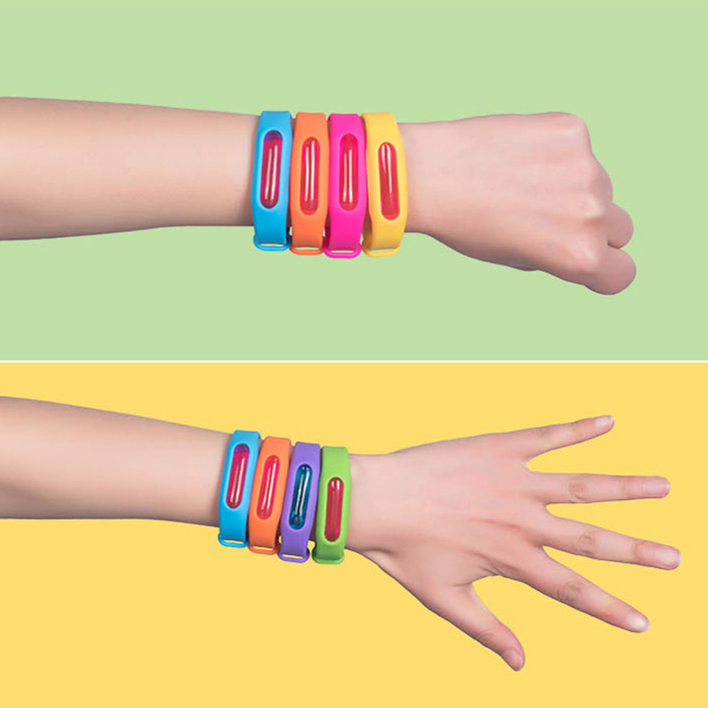 1pc baby skin care Anti Mosquito Insect Repellent Wrist Silicone Wristband Mosquito Repellent Bracelet Camping Outdoor baby gift