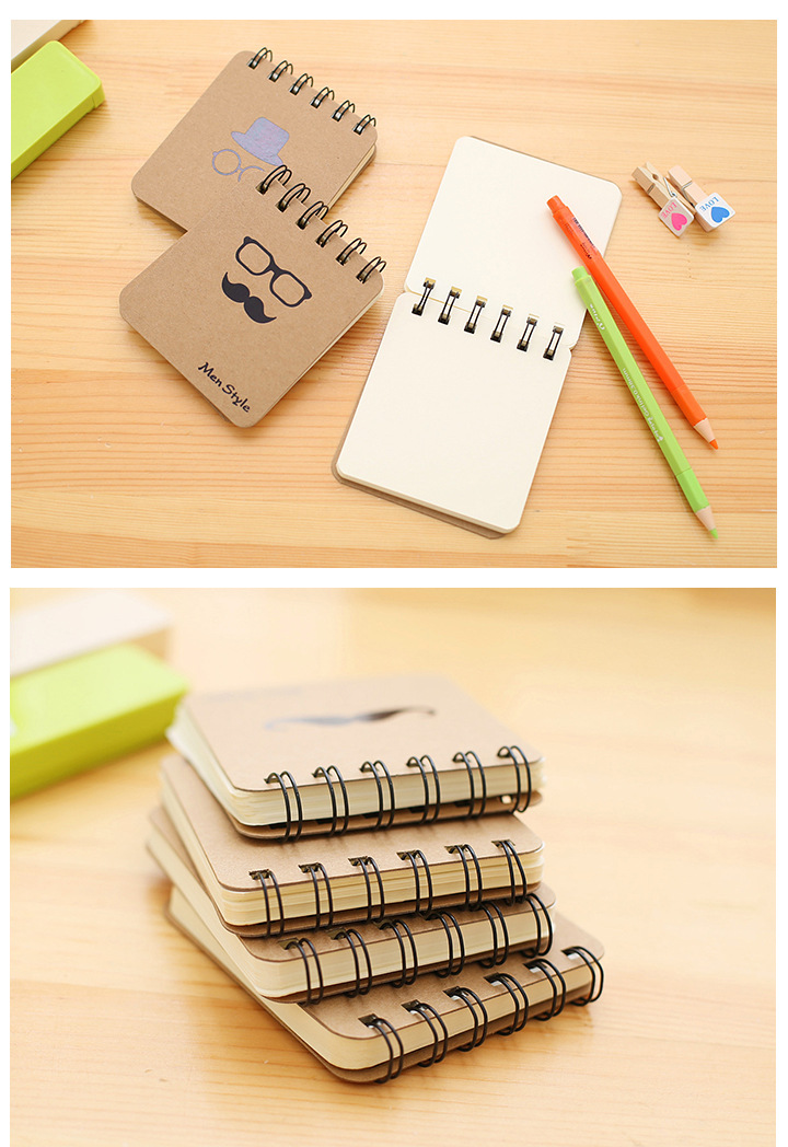 Small Graffiti Blank Spiral Pocket Notebook To Do It Planner Drawing Sketchbook Memo Notepad School Office Stationery