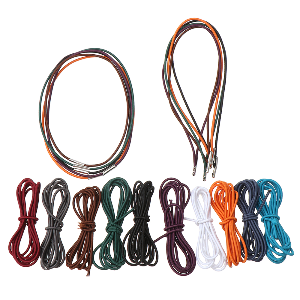 3/5 PCs Travel Notebook Inner Page Tied Rope Elastic Band String Notepad Filler Paper Refill Bungee Cord Stationery Supplies