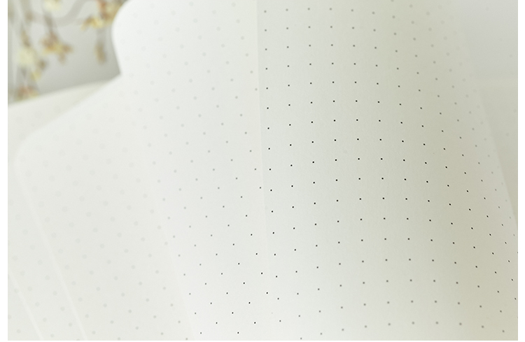 Bullet Dotted Journal Dot Grid Notebook    A5 Stationery Cute Soft Cover Diary Bujo Travel Planner