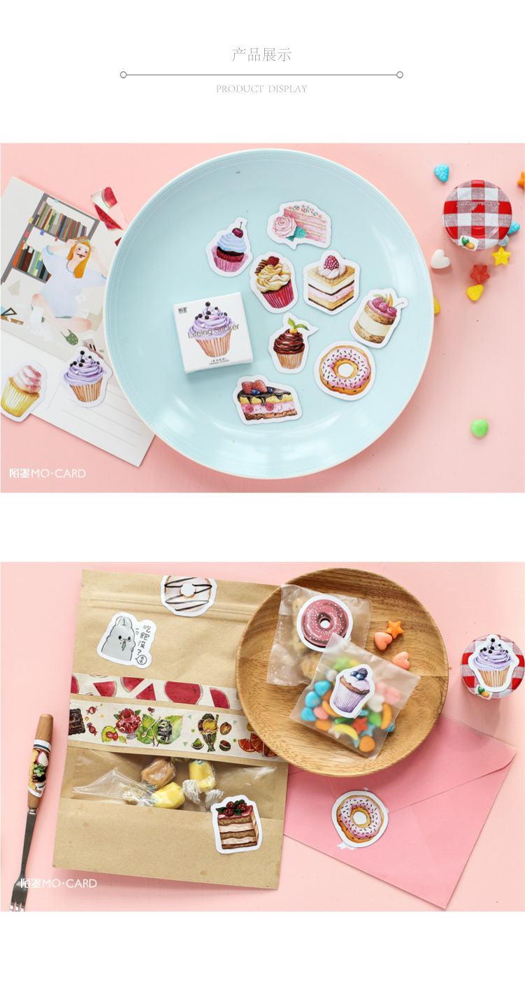 45pcs Practical Butterfly Garden Notebook Stickers Cartoon Cute Fashion Theme Journal Stickers School Office Pads Stationery