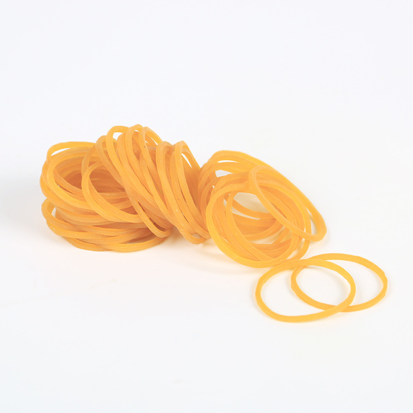 100 PCS/bag High Quality Office Rubber Ring Rubber Bands Strong Elastic Stationery Holder Band Loop School Office Supplies