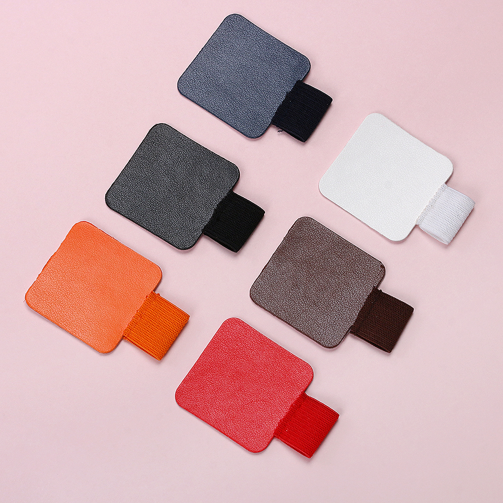 1Pcs Self-adhesive Leather Pen Holder Pen Clips For Notebooks Journals For Pen Organizer School Stationery