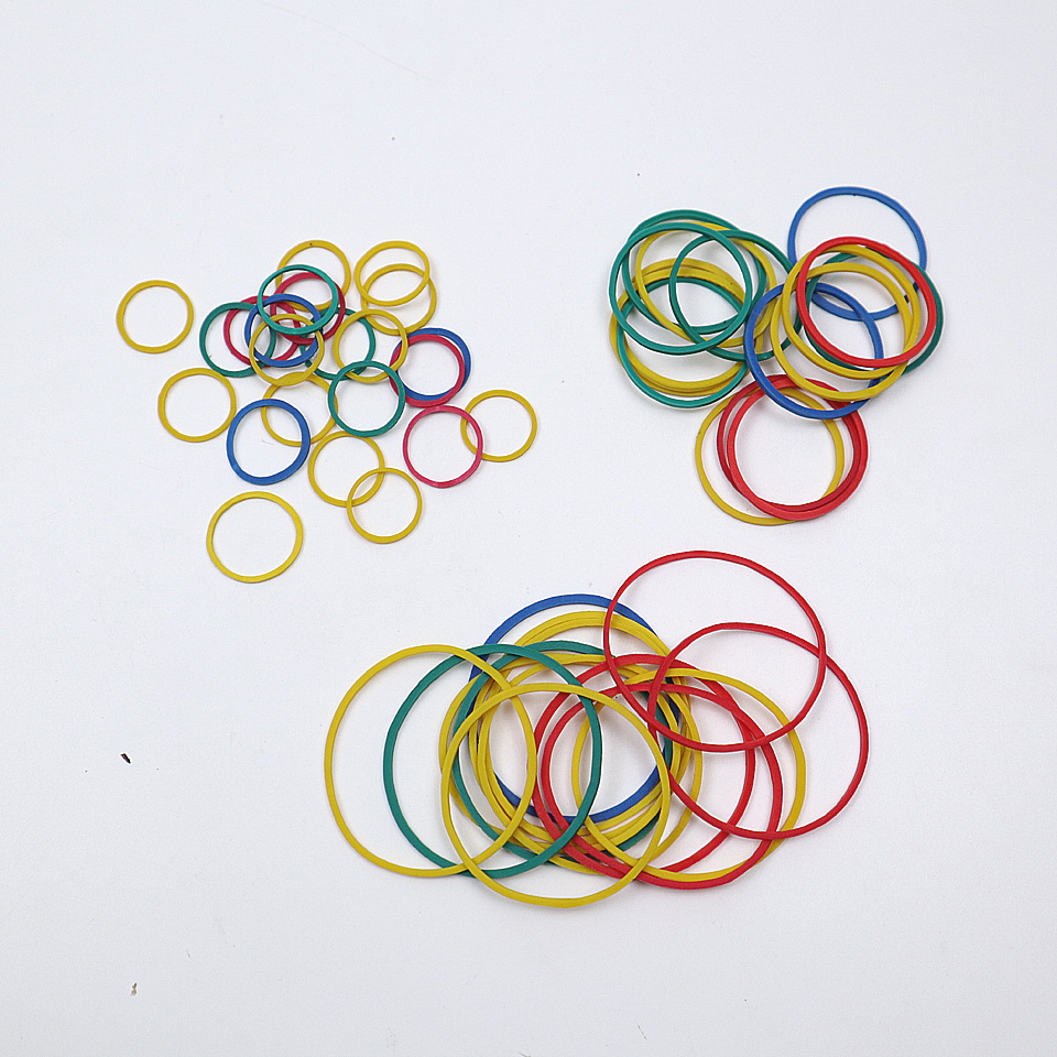 High Quality Color Elastic Rubber Band 13-38mm For School Office Home Industrial Rubber Band Stationery Packaging Tape