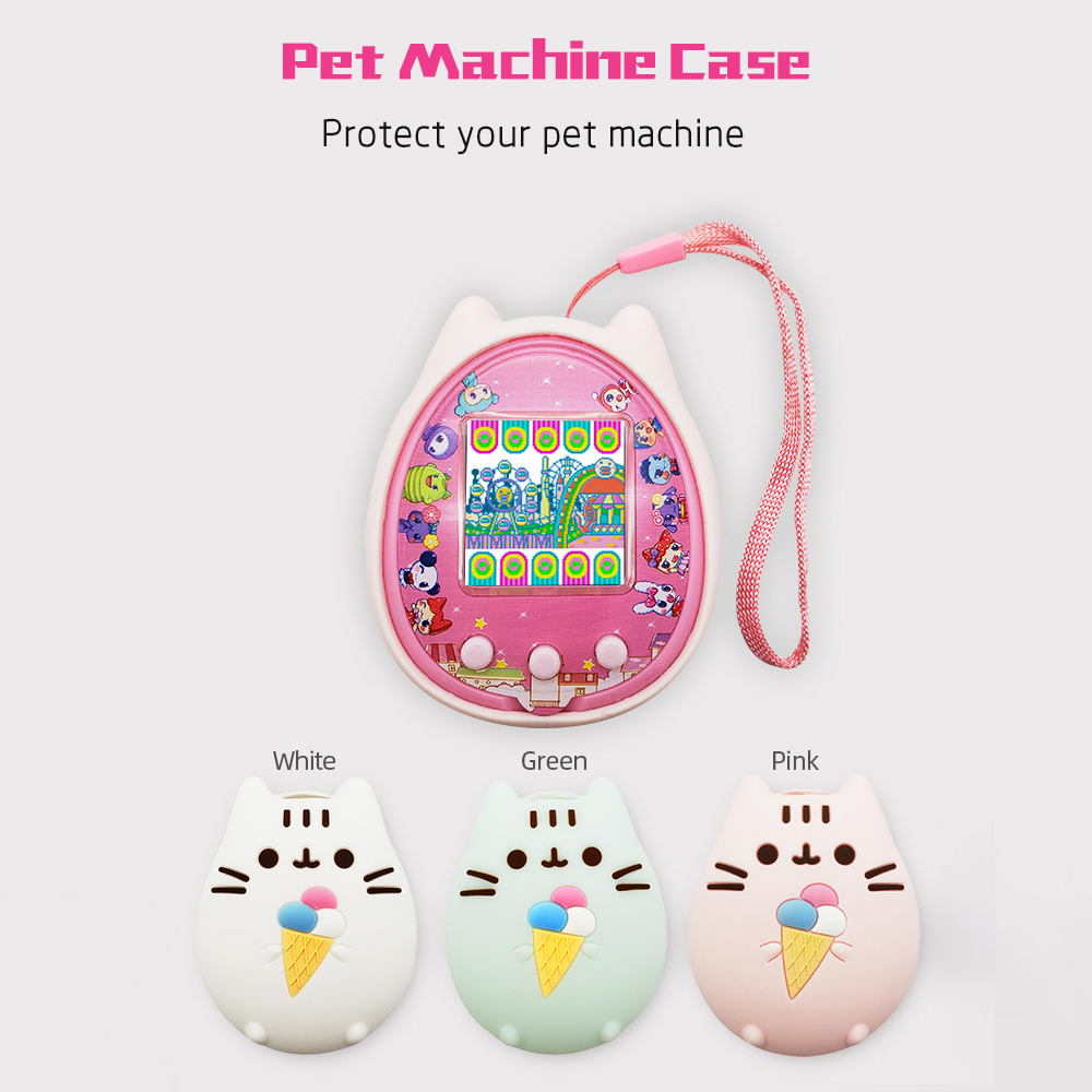 Protective Cover Shell Pet Game Machine Silicone Case for  Cartoon Electronic Gadgets Electronic Digital Pet Game Dating Machine