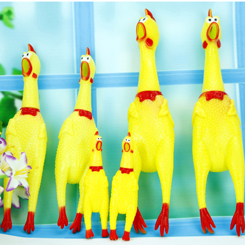 Pet Toy Product Dog Toy Screaming Chicken Squeeze Sound Toy  Shrilling Decompression Tool Funny Gadgets Interesting toy