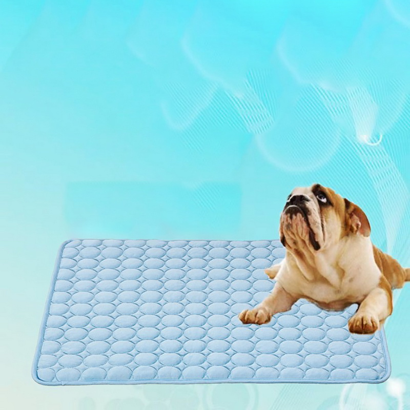Hoomall Summer Cooling Mats Blanket Ice Pet Dog Bed Sofa Portable Tour Camping Yoga Sleeping Mats For Dogs Cats Pet Gadgets
