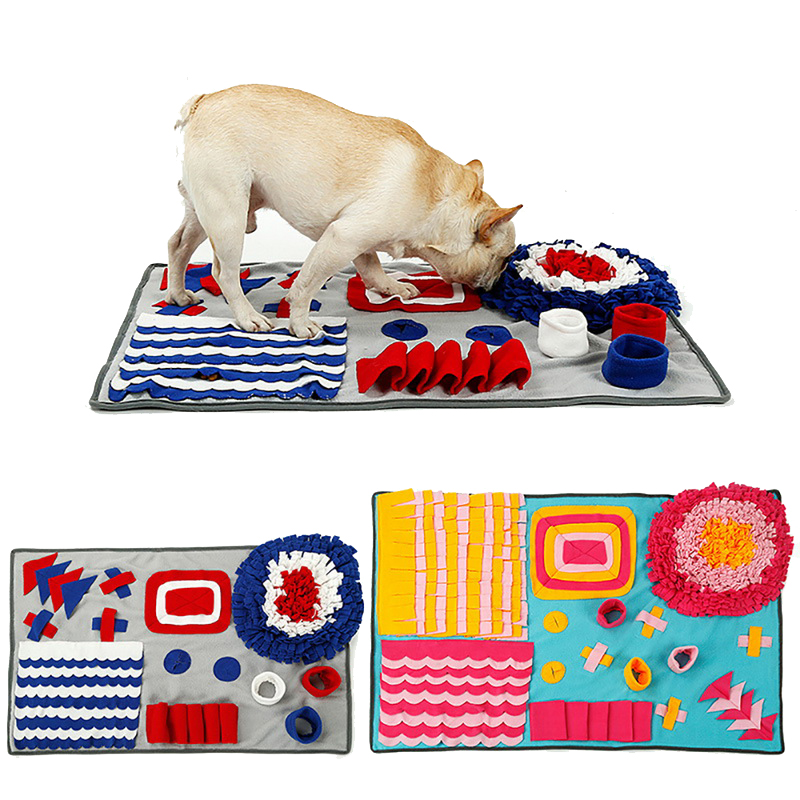 Hoomall Training Blanket Sniffing Blanket Chewing Biting Mats Pet Gadgets Soft Pet Dog Mats Nose Training Dog Beds Sofa Pads