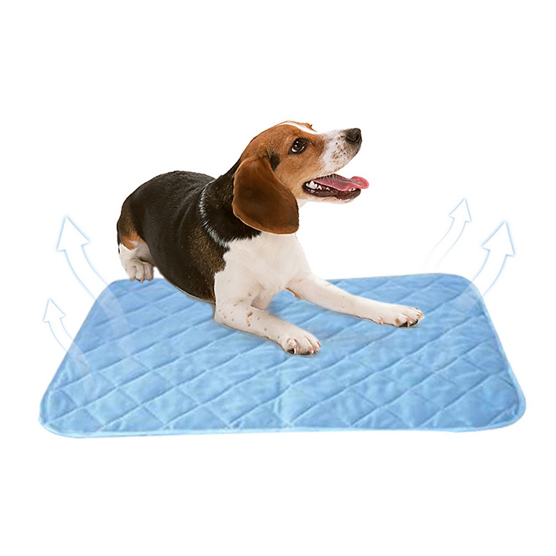 Hoomall Summer Cooling Mats For Dogs Cats Pet Dog Mat Ice Pad Blanket Portable Tour Caming Sleeping Mats Dog Pet Gadgets
