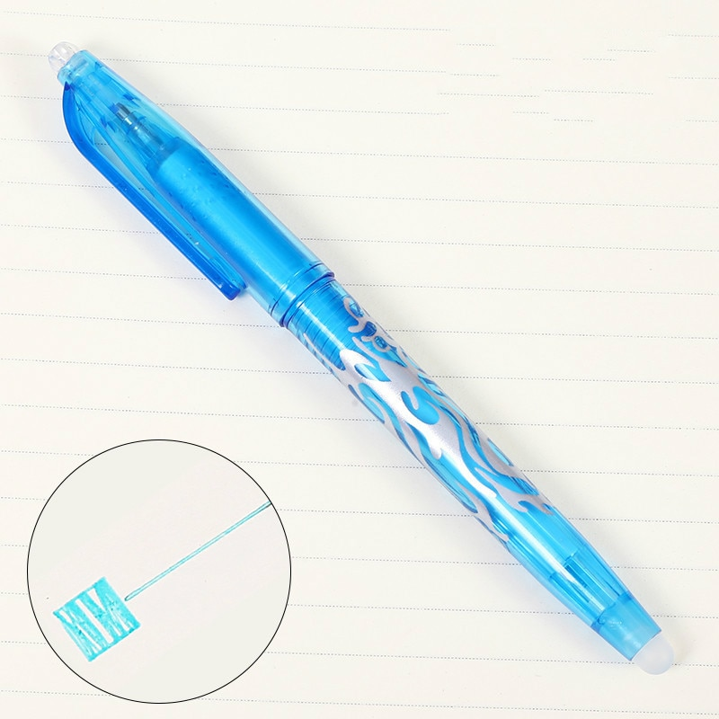 2019 New Color Erasable Gel Pen Twinkle Magical Fashion School Office Writing Supplies Student Stationery