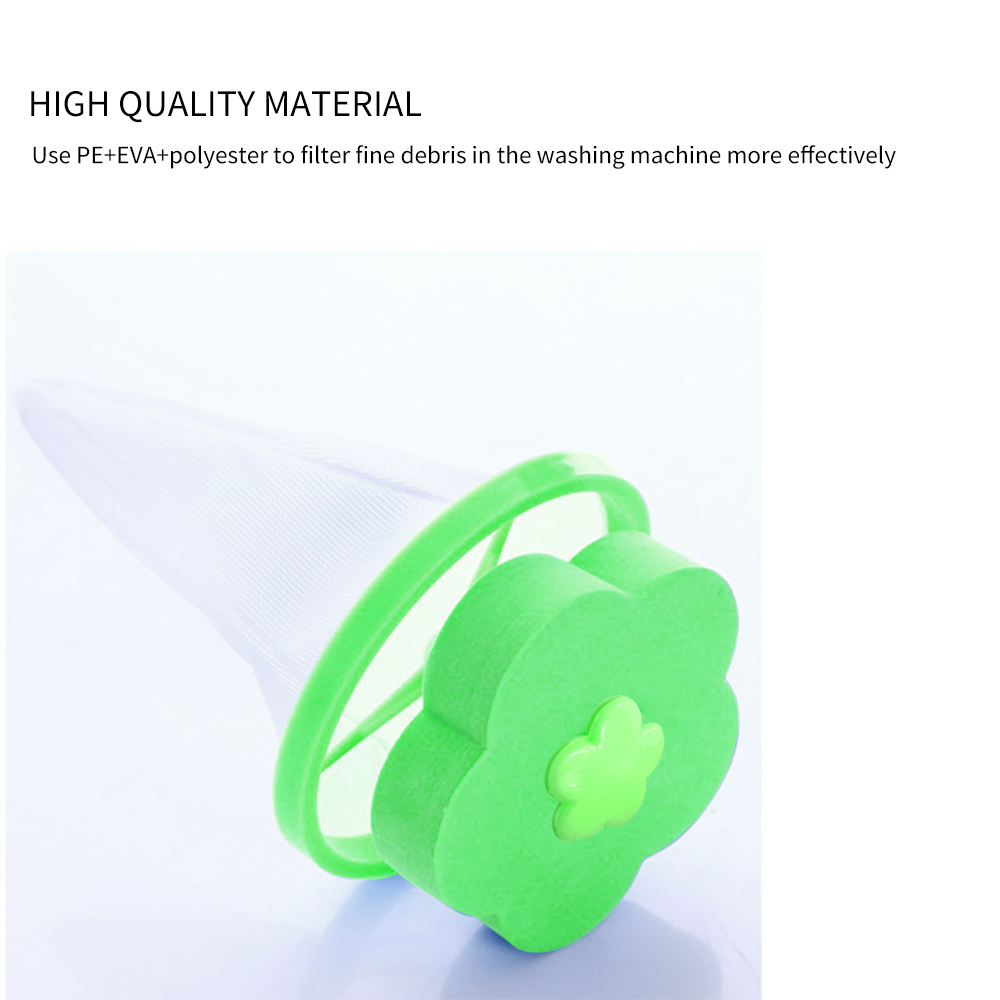 Cleaning Washing Machine Filter Mesh Net Bag Floating Pet Fur Catcher Filtering Hair Removal Device Wool Cleaning Supplies