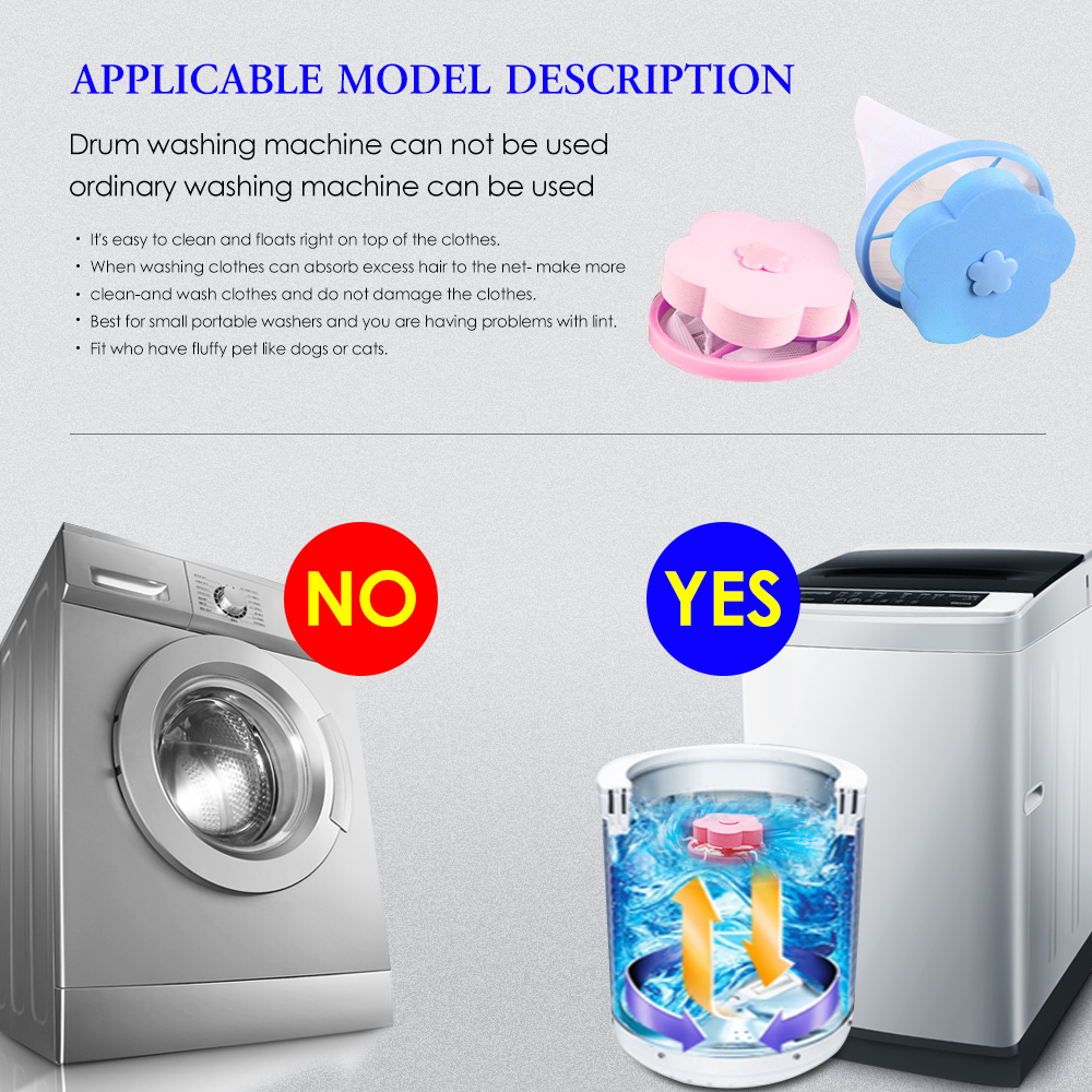 Cleaning Washing Machine Filter Mesh Net Bag float Pet Fur Catcher Filtering Hair Removal Device Wool Cleaning Supplies